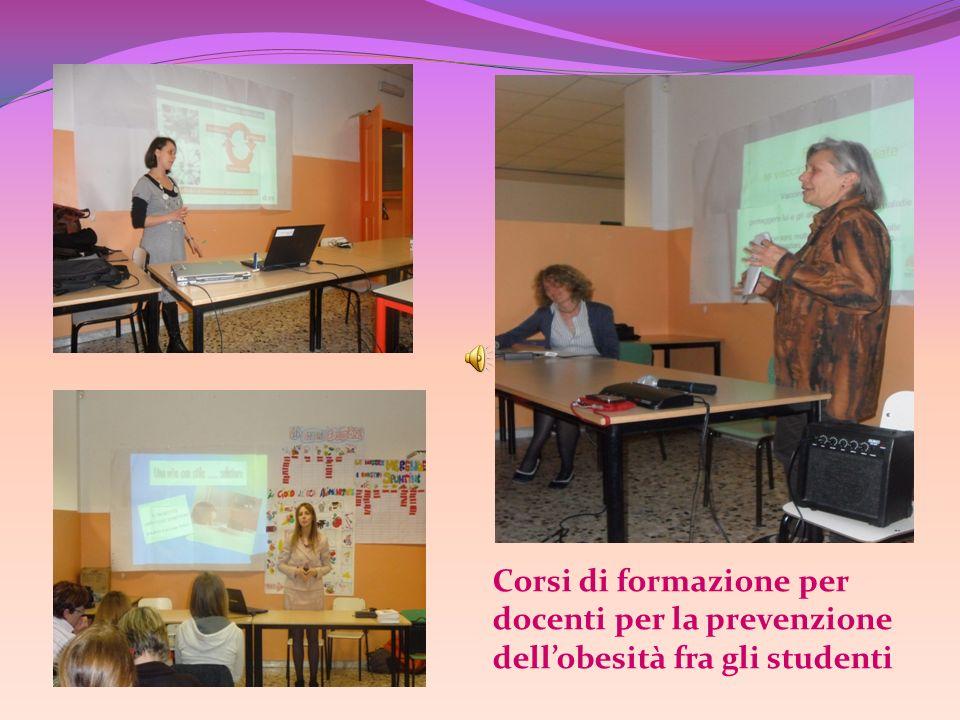 Corsi di formazione per docenti per la prevenzione dellobesità fra gli studenti