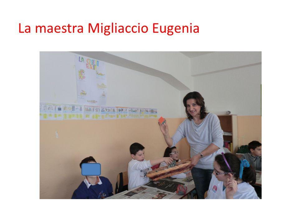 La maestra Migliaccio Eugenia