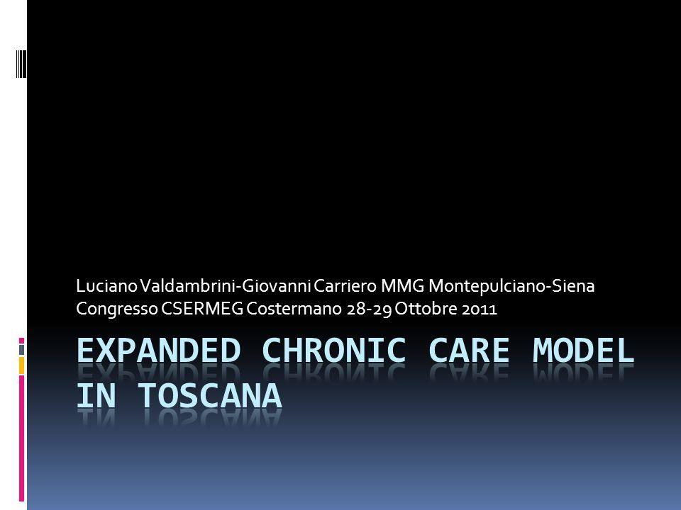 Luciano Valdambrini-Giovanni Carriero MMG Montepulciano-Siena Congresso CSERMEG Costermano 28-29 Ottobre 2011