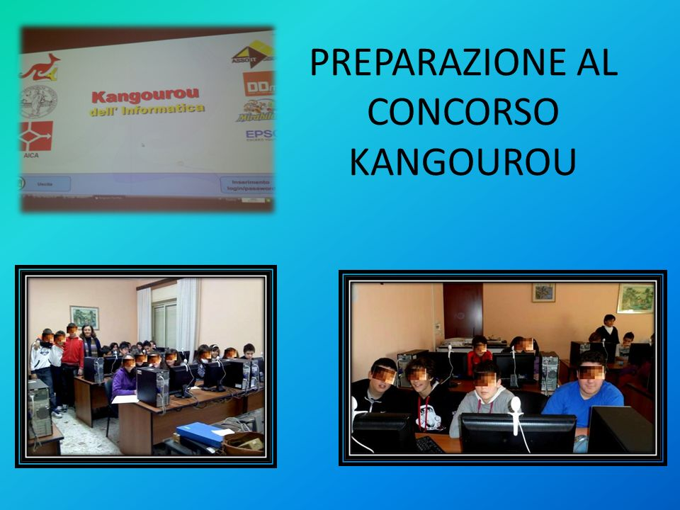 PREPARAZIONE AL CONCORSO KANGOUROU