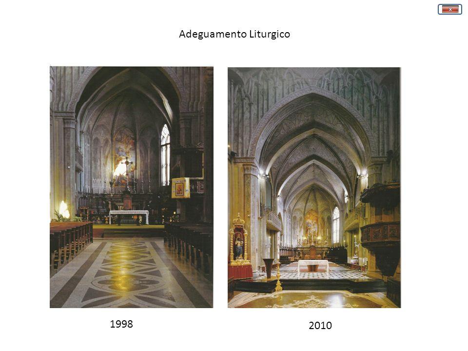 1998 2010 Adeguamento Liturgico