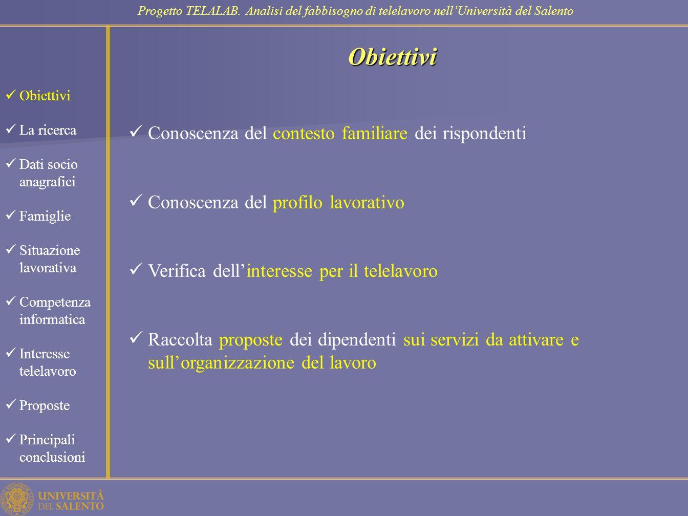 Competenza informatica Progetto TELALAB.