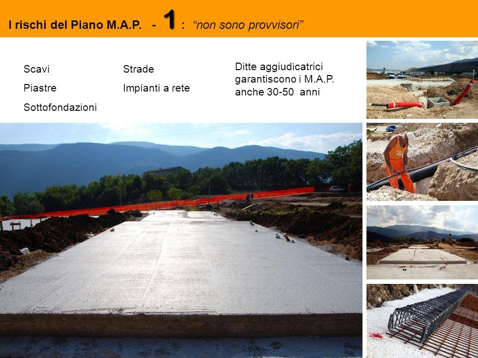 Scavi Piastre Sottofondazioni Strade Impianti a rete Ditte aggiudicatrici garantiscono i M.A.P.