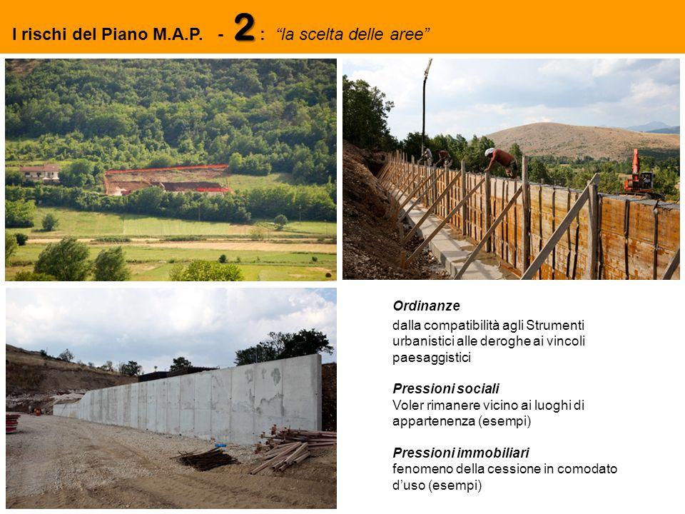 2 I rischi del Piano M.A.P.