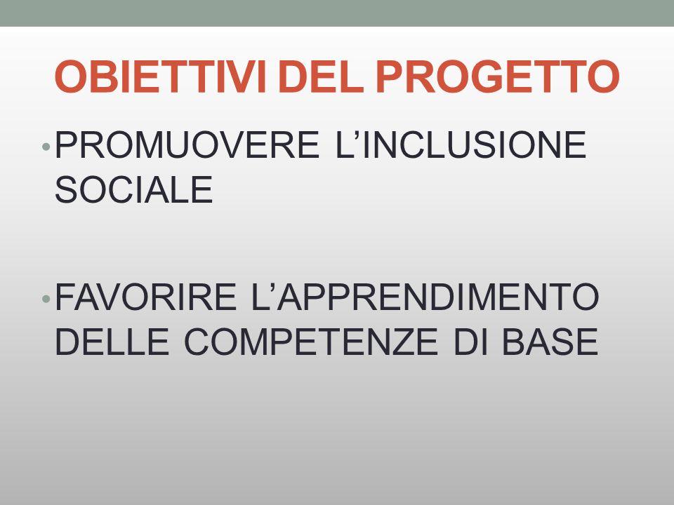 NOVITA RISPETTO AL PASSATO OBIETTIVO PRINCIPALE: INCLUSIONE PRESENZA PROGETTO C RECLUTAMENTO DOCENTI DAS