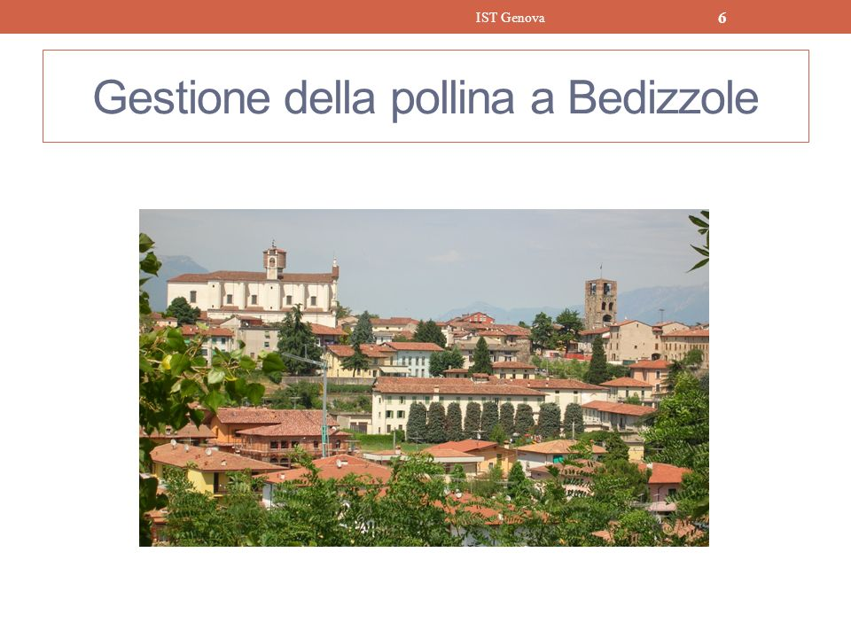 Gestione della pollina a Bedizzole IST Genova 6