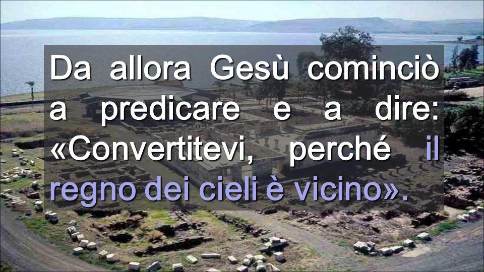 Di chi avrò paura? (Salmo) Gesù non porta comodità, bensì Luce per vivere con poco Lago di Galilea