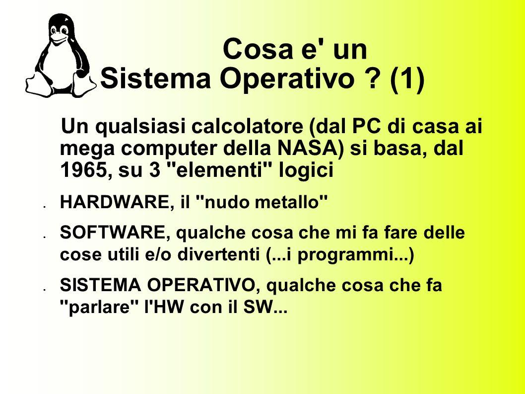 Cosa e un Sistema Operativo .