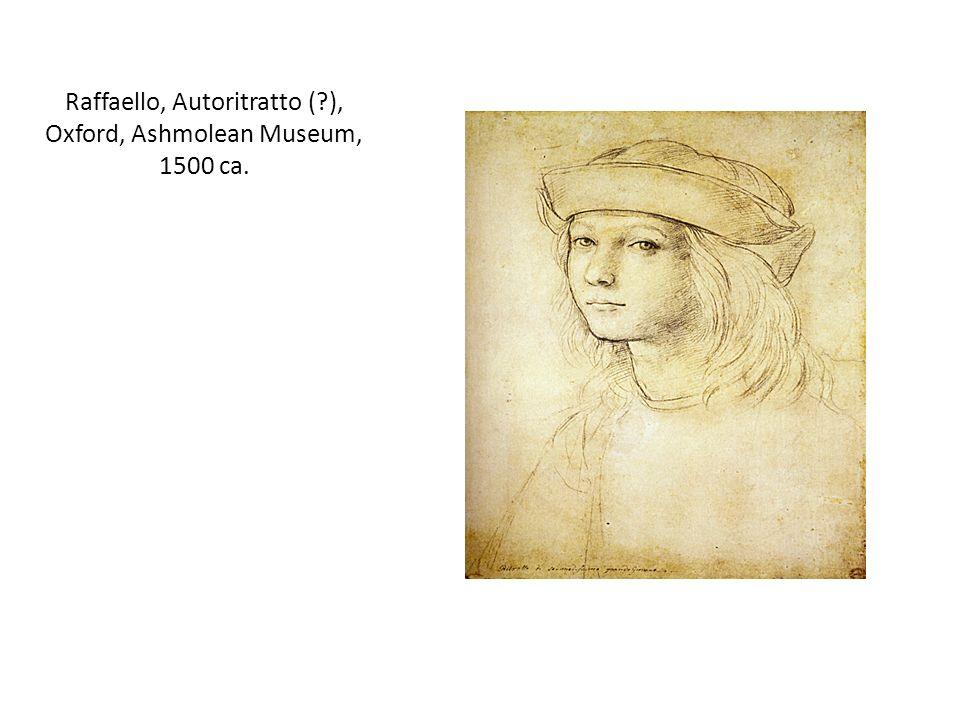 Raffaello, Autoritratto (?), Oxford, Ashmolean Museum, 1500 ca.