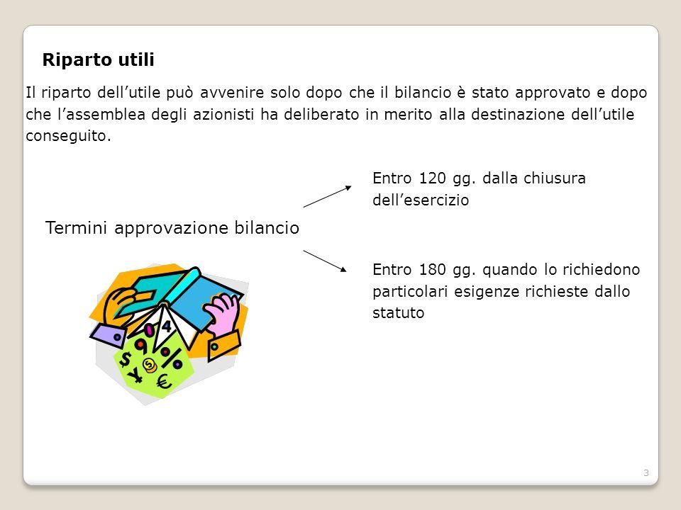 4 Le riserve di utili (art.