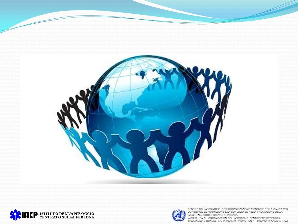 CENTRO COLLABORATORE DELLORGANIZZAZIONE MONDIALE DELLA SANITÀ PER LA RICERCA, LA FORMAZIONE E LA CONSULENZA NELLA PROMOZIONE DELLA SALUTE NEI LUOGHI DI LAVORO IN ITALIA WORLD HEALTH ORGANIZATION COLLABORATING CENTRE FOR RESEARCH, TRAINING AND CONSULTING IN HEALTH PROMOTION AT THE WORKPLACE IN ITALY