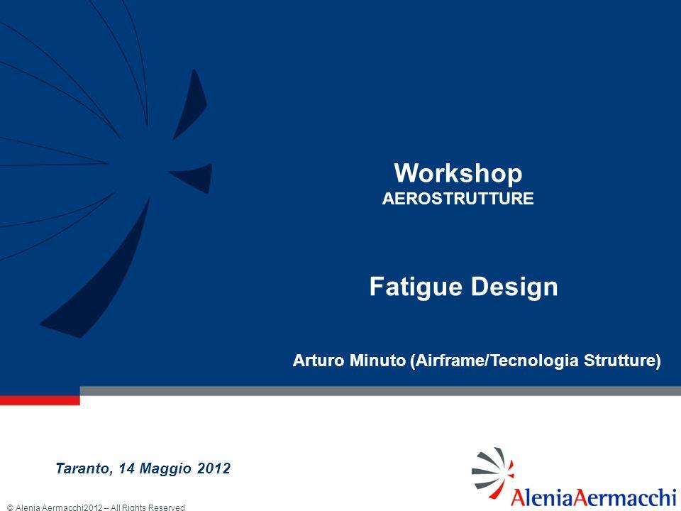 © Alenia Aermacchi2012 – All Rights Reserved La Fatica delle Strutture Aeronautiche Taranto, 14 Maggio 2012 32/43 Delamination after impact Impact on CFRP edge
