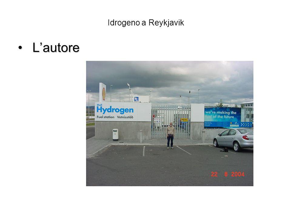 Idrogeno a Reykjavik Lautore Lautore