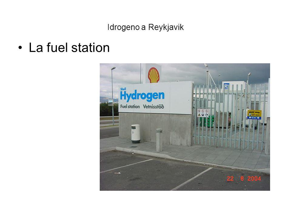 Idrogeno a Reykjavik I serbatoi di stoccaggio I serbatoi di stoccaggio