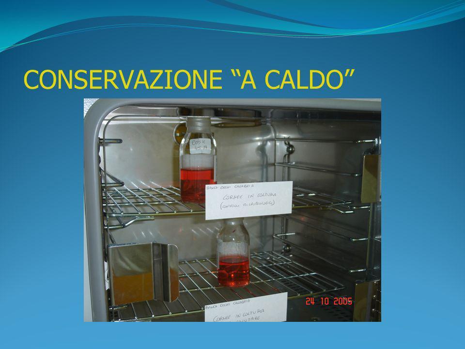 CONSERVAZIONE A CALDO