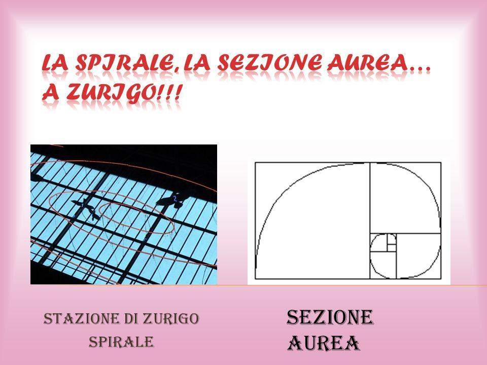 Stazione di zurigo Spirale Sezione Aurea