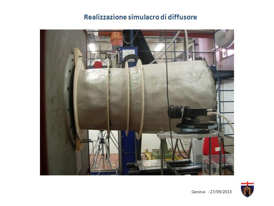 Realizzazione simulacro di diffusore Genova - 27/09/2013