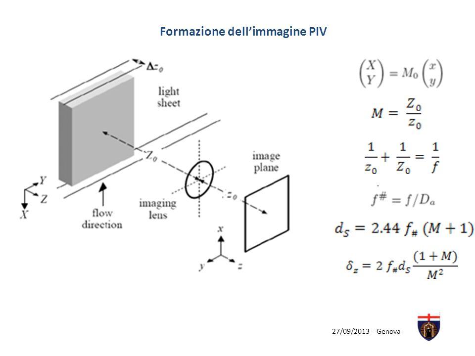 27/09/2013 - Genova Formazione dellimmagine PIV