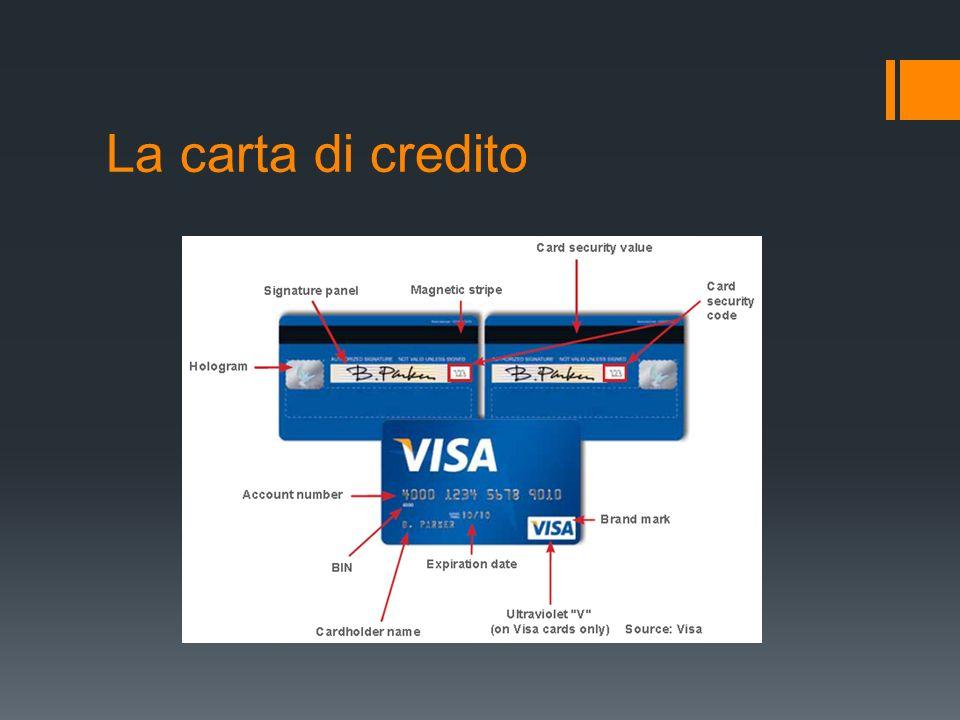 La carta di credito