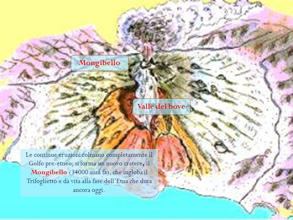 Golfo pre -etneo Geologicamente, lEtna si è formato nel corso di vari millenni, con un processo iniziato circa 600.000 anni fa, nel quaternario Al suo