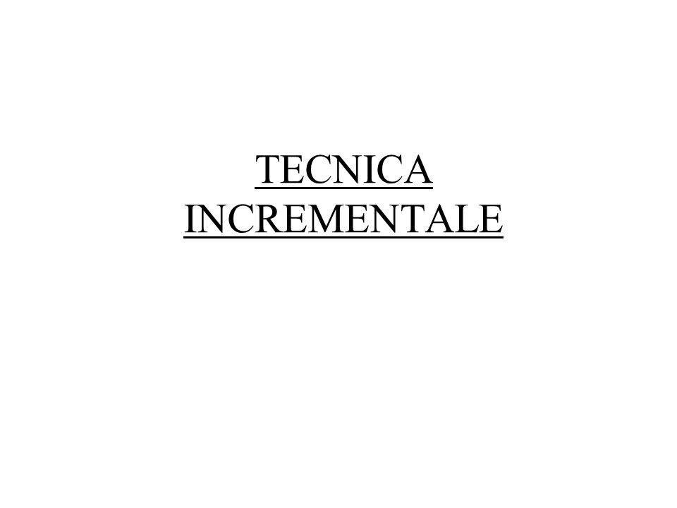 TECNICA INCREMENTALE