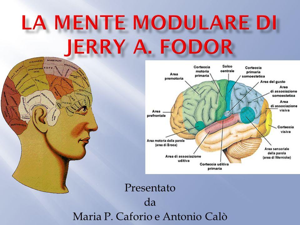 Presentato da Maria P. Caforio e Antonio Calò