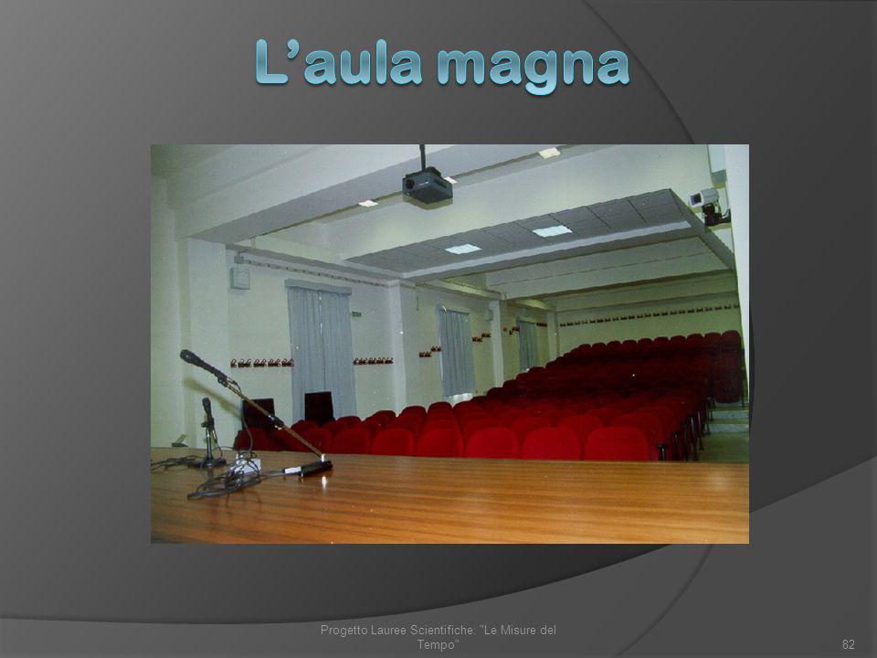 82 Progetto Lauree Scientifiche: