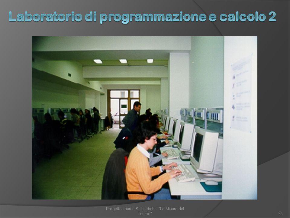 84 Progetto Lauree Scientifiche: