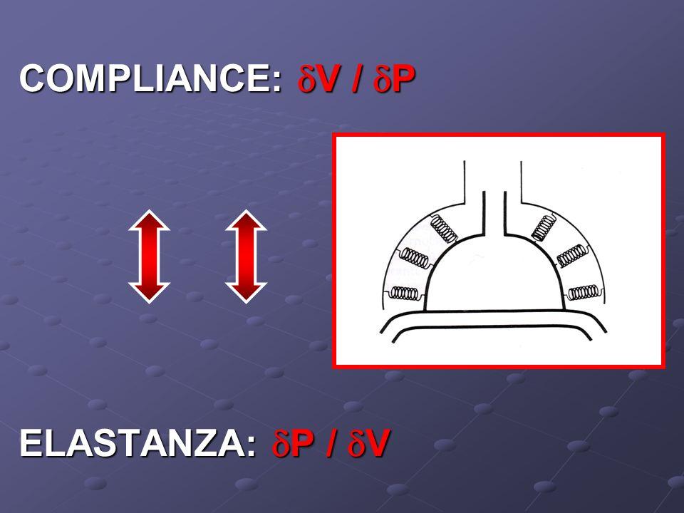 COMPLIANCE: V / P ELASTANZA: P / V