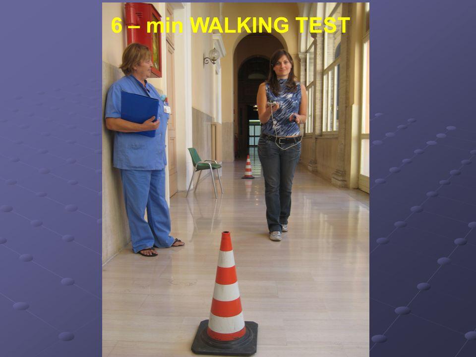 6 – min WALKING TEST