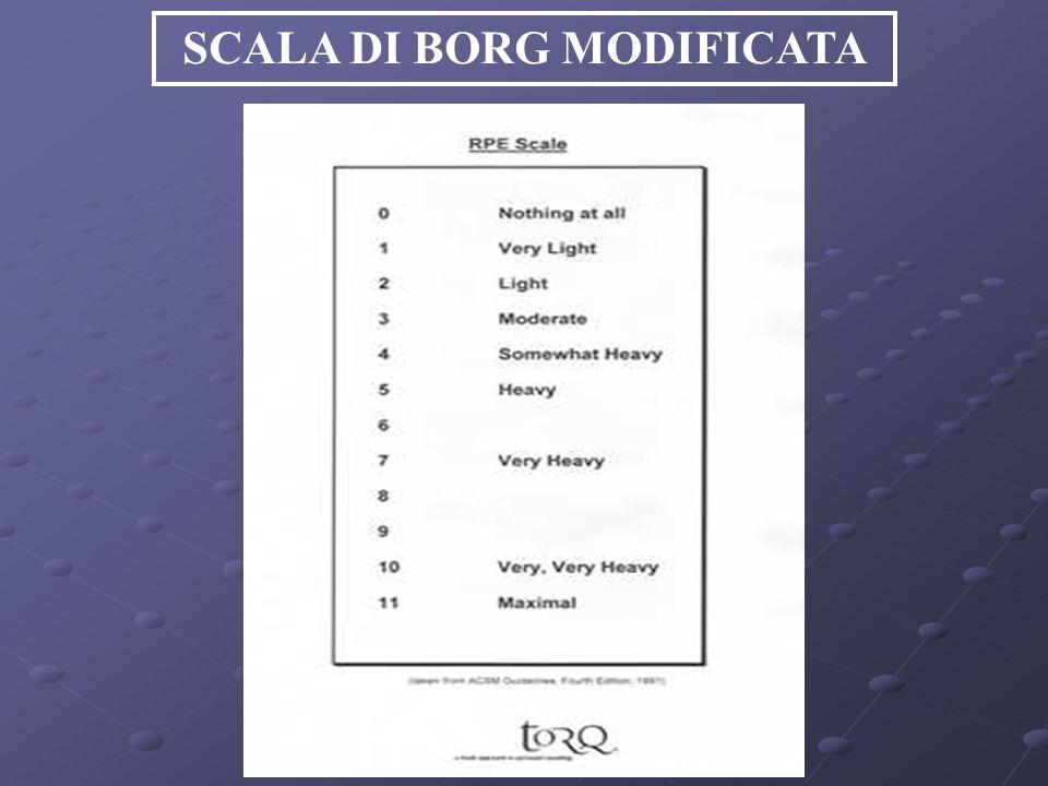 SCALA DI BORG MODIFICATA