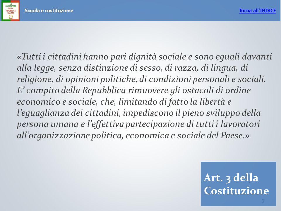 8 Scuola e costituzione Art.