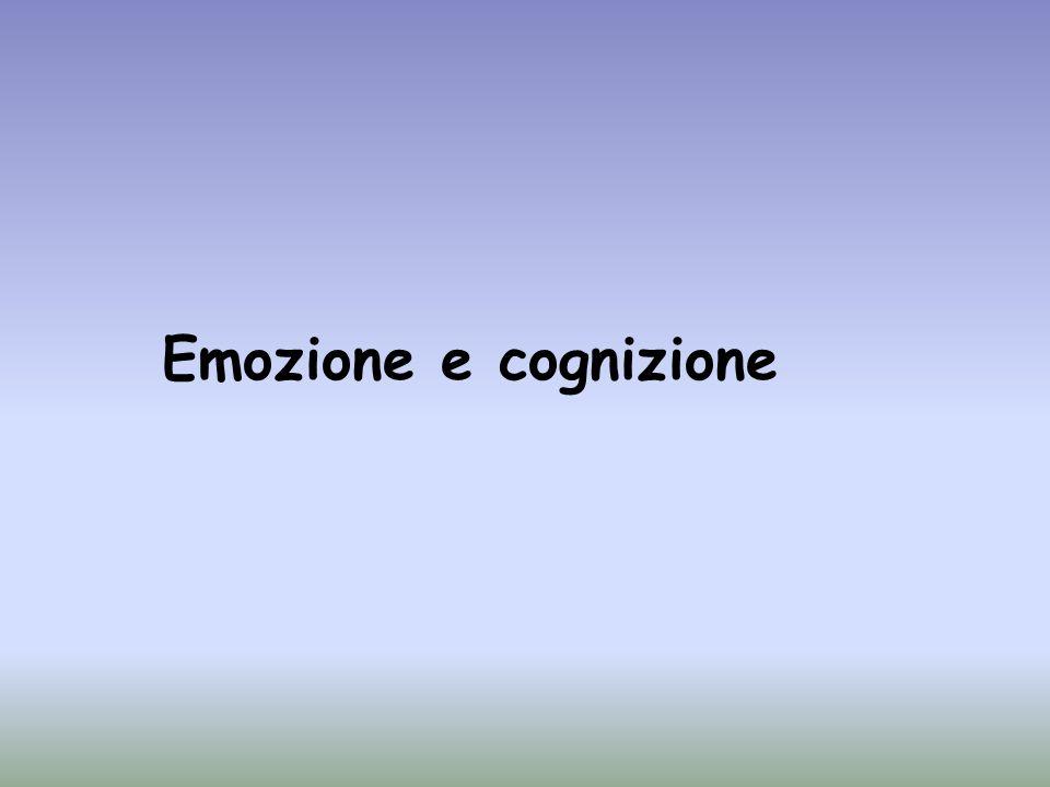 Emozione e cognizione