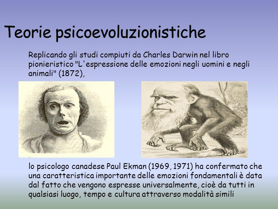 Replicando gli studi compiuti da Charles Darwin nel libro pionieristico