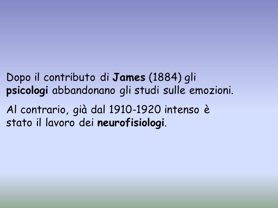 La psicologia è tornata ad occuparsi dello studio delle emozioni a partire dal 1960 Alcune teorie hanno enfatizzato la presenza di nuclei innati di emozioni primarie (aspetti espressivi) Altre teorie hanno enfatizzato la presenza di processi cognitivi alla base delle emozioni