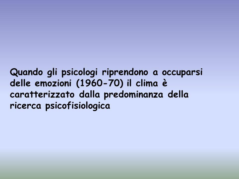 Teoria del feedback facciale (Izard, 1977): Per questi autori esiste un piccolo numero di emozioni universali con specifici modelli (pattern) di risposte espressive e fisiologiche