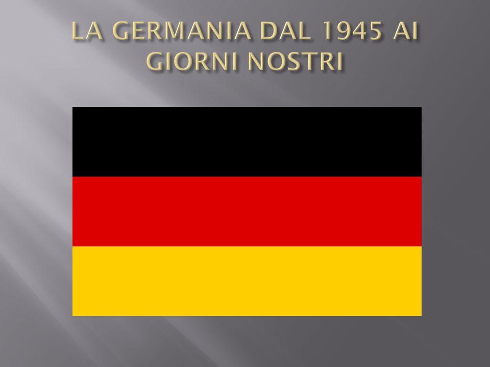 Insicurezza dei cittadini tedeschi dovuta alle decisioni che avrebbero preso gli alleati Conferenza di Yalta Processo di Norimberga