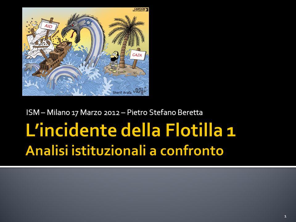ISM – Milano 17 Marzo 2012 – Pietro Stefano Beretta 1