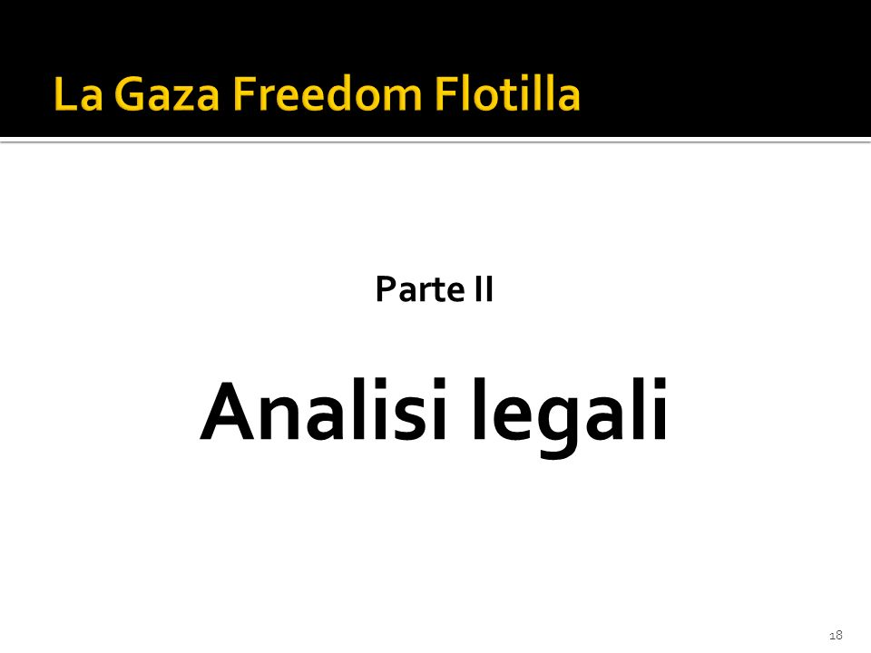 18 Parte II Analisi legali