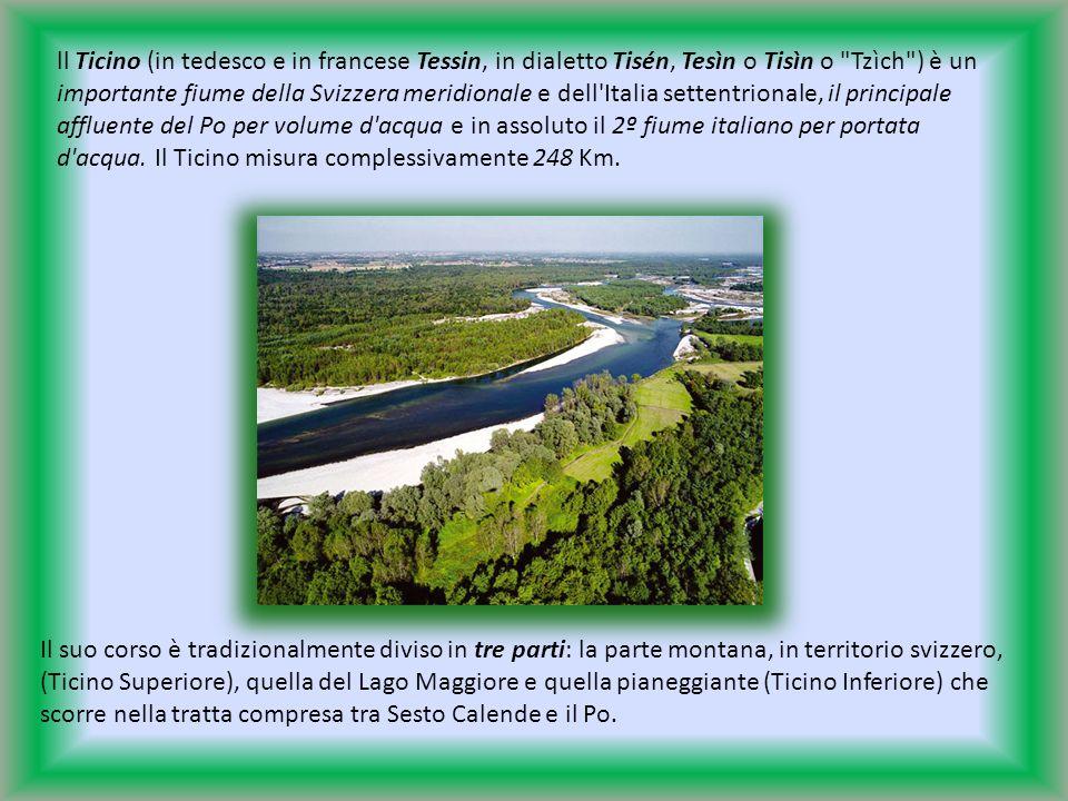 ll Ticino (in tedesco e in francese Tessin, in dialetto Tisén, Tesìn o Tisìn o