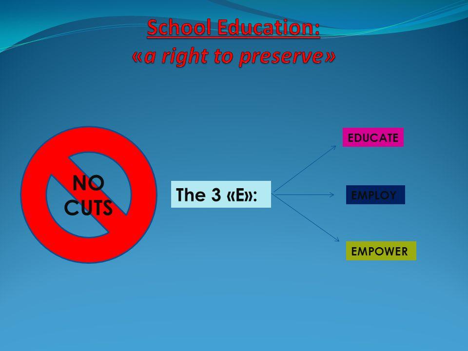 Students slogans ACTIONS speak louder than words.School: No Sales .