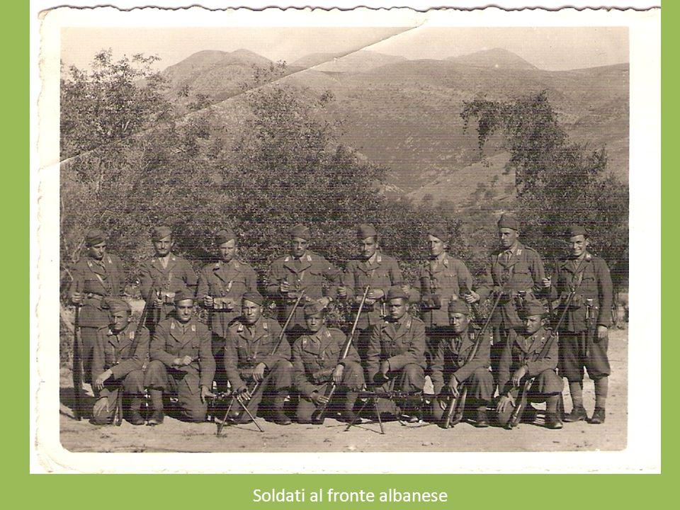 Soldati al fronte albanese