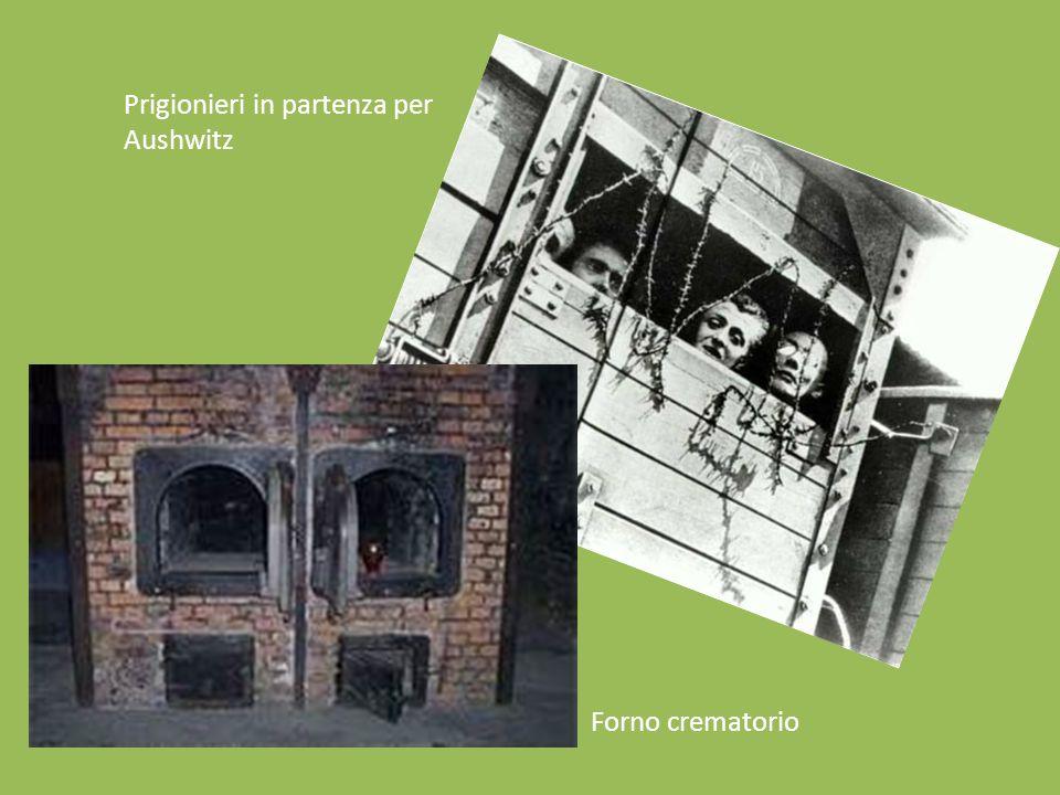 Forno crematorio Prigionieri in partenza per Aushwitz