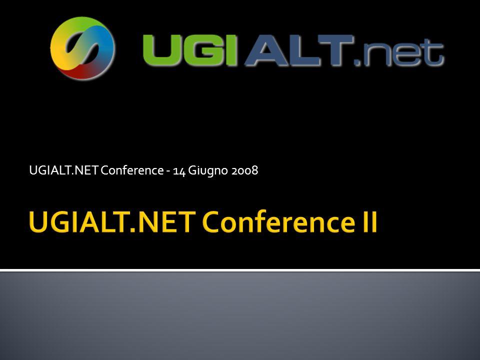 UGIALT.NET Conference - 14 Giugno 2008