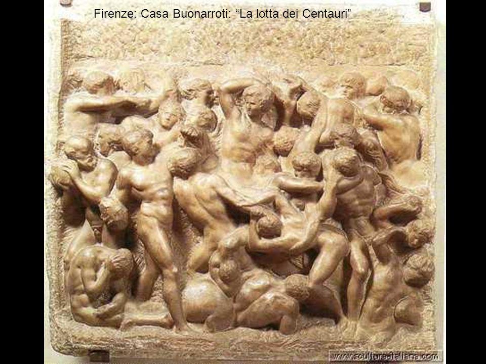 Firenze: Casa Buonarroti La madonna della scala