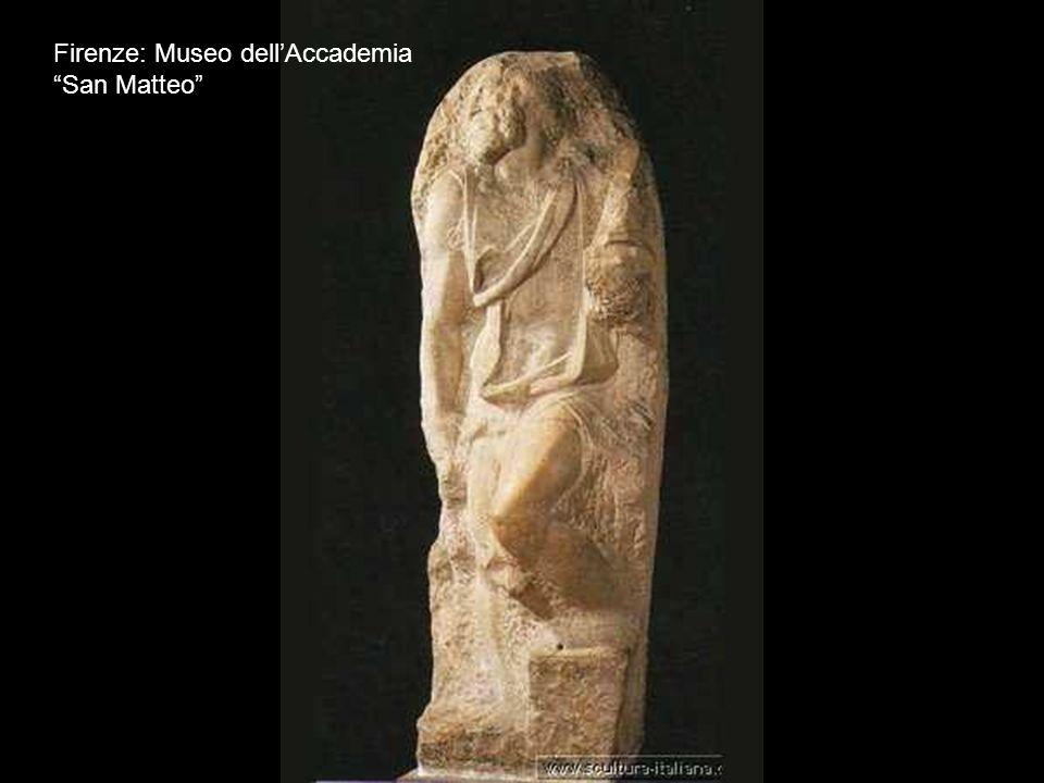 Firenze: Museo del Bargello Bruto