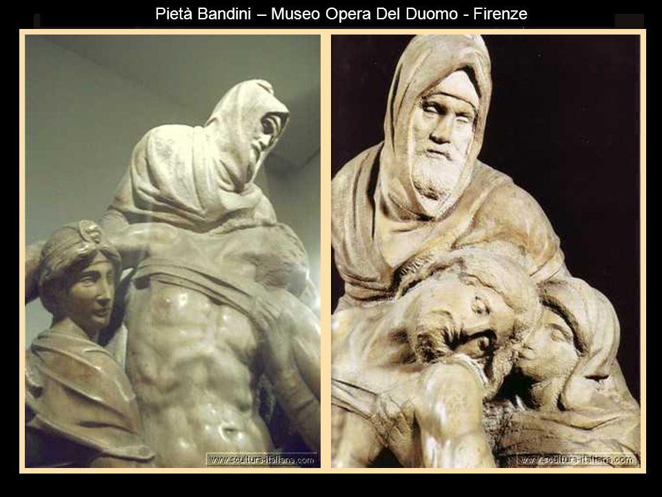 Galleria dellAccademia - Firenze Lo schiavo barbutoAtlanteLo schiavo giovaneLo schiavo che si desta