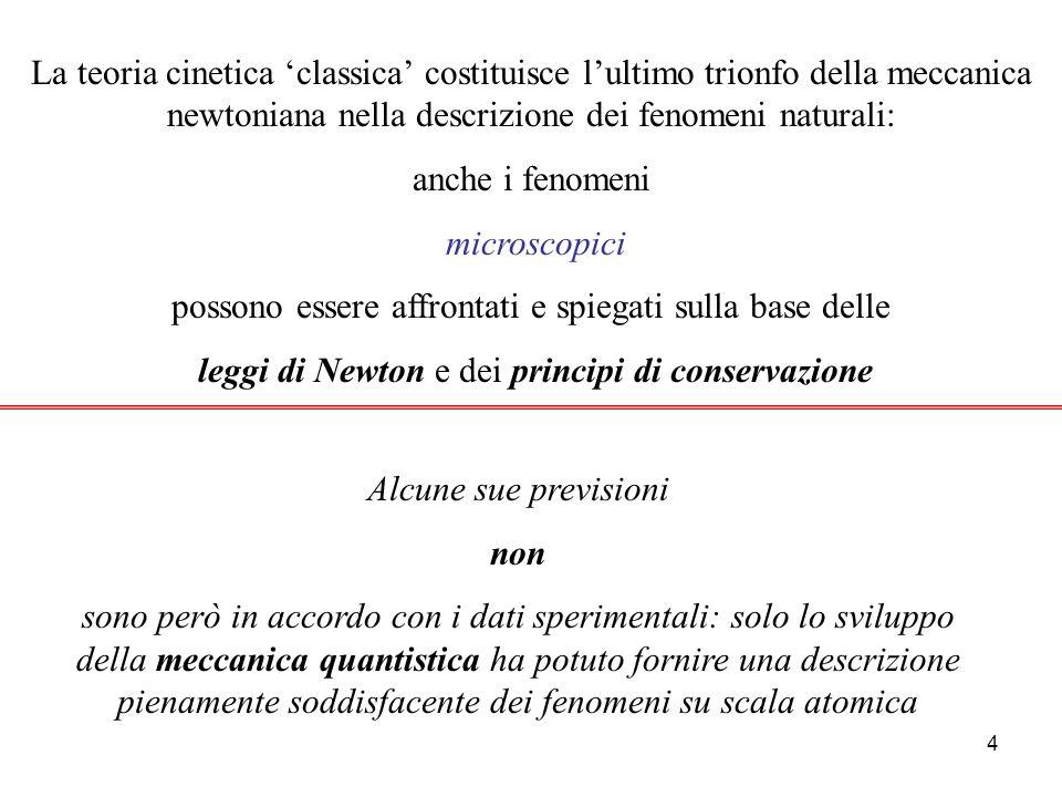 3 Le tappe fondamentali dellinterpretazione cinetica del calore 1900 J.Perrin : studio del moto browniano e determinazione del numero di Avogadro 1920 Otto Stern - Zartmann - etc.
