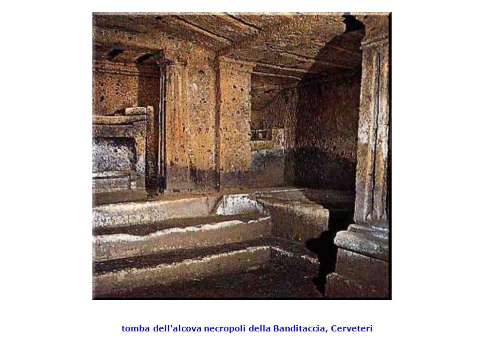tomba dell alcova necropoli della Banditaccia, Cerveteri