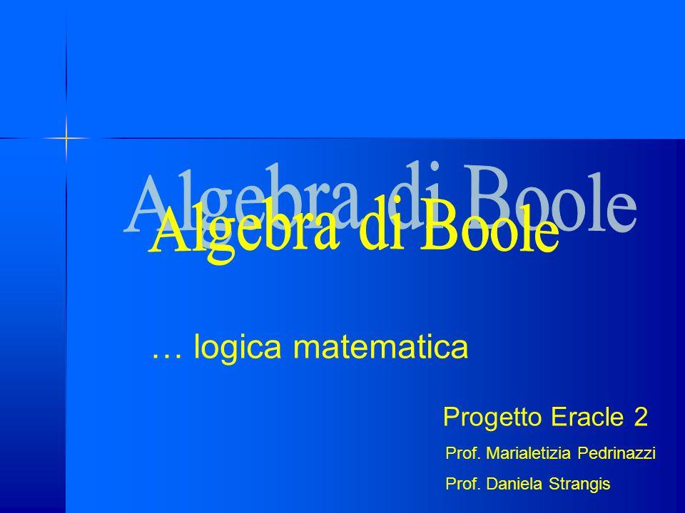 Esercizi sulla disgiunzione esclusiva Esercizio 1: date le proposizioni sotto assegnare loro un valore di verità P1=7 è pari; P2=7 è dispari; P3=5 è radice di 25; P4=5 è radice di 24 quindi costruire le seguenti proposizioni composte: P1 XOR P2; P1 XOR P3; P1 XOR P4; P2 XOR P3; P2 XOR P4; P3 XOR P4.